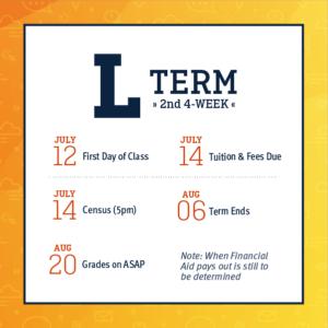 L Term - Second 4-Week